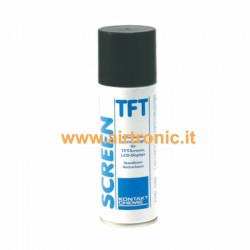 Spray per pulizia monitor