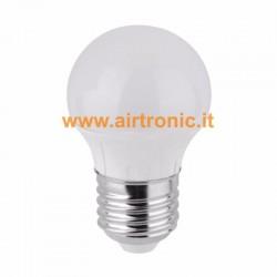 Lampadina mini bulbo LED E27 4W Bianco Freddo - 1