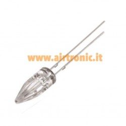 LED ROSSO  5MM A PUNTA...