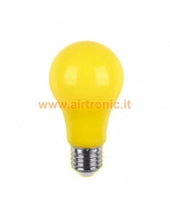 LAMPADINA A LED E27 5W GIALLA