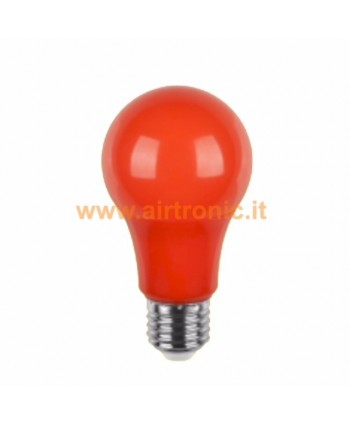 LAMPADINA A LED E27 5W ROSSA