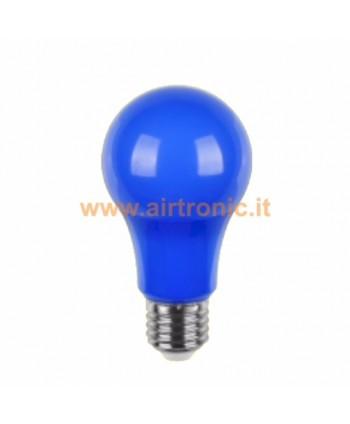 LAMPADINA A LED E27 5W BLU