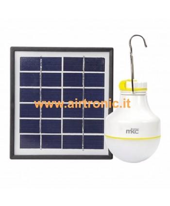 Pannello solare con lampada...