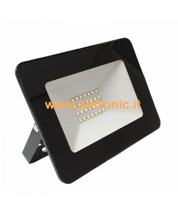 Faro Proiettore Slim a LED 20W Bianco Naturale - 1