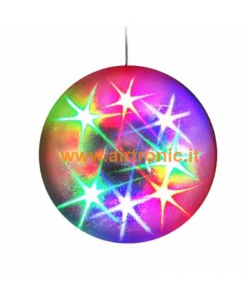 Effetto luce multistar Sfera con LED colorati - 1