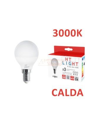 3 LAMPADE MINI SFERA 5W E14...