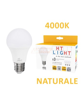 CONF.3PZ. LAMPADINA A LED...
