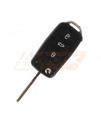 Cover per chiave VW SEAT SKODA 3 tasti - 1