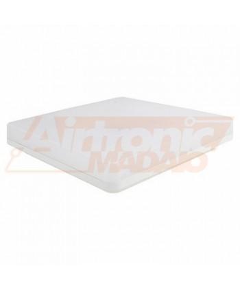 Plafoniera LED IP54 CCT 24W 2000lm quadra bianca - 1