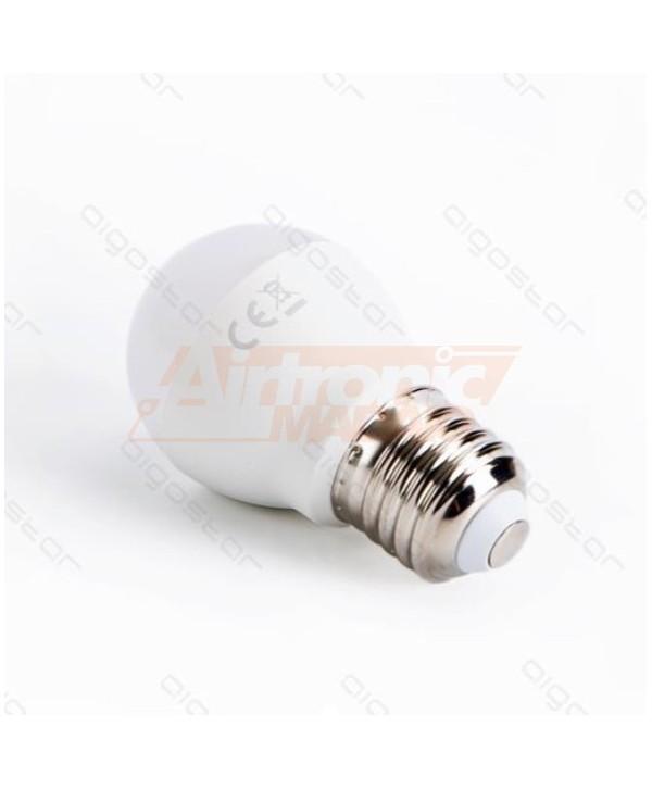 Lampadina mini bulbo LED E27 9W Bianco Freddo - 2