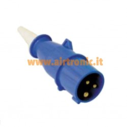 Spina industriale 2P+T 16A...